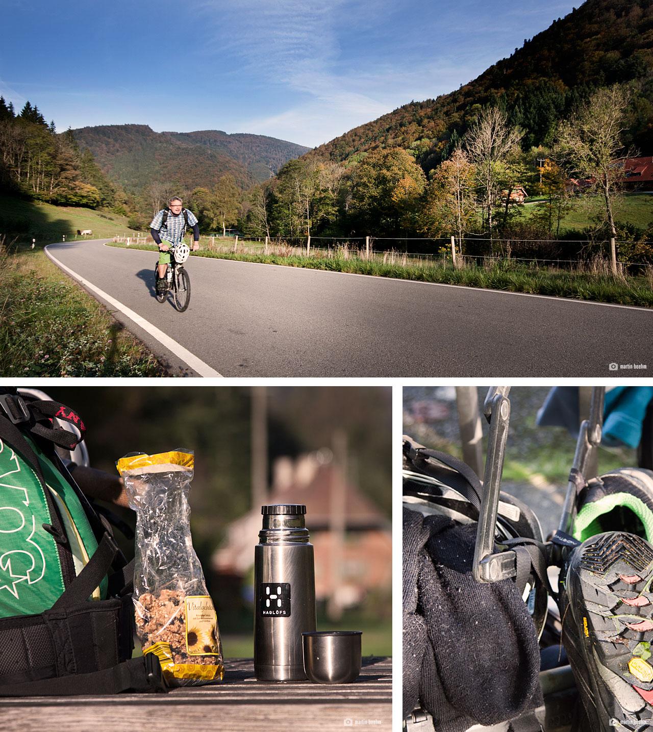 Im Wilhelmer Tal zum Startpunkt Alpiner Pfad Feldberg
