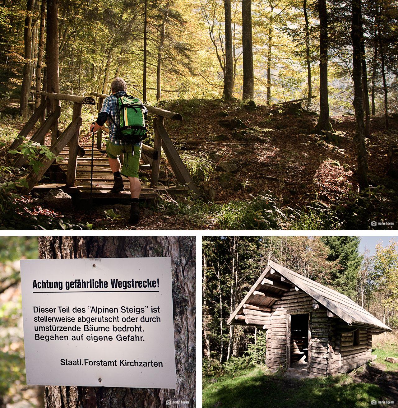 Startpunkt Alpiner Pfad Feldberg