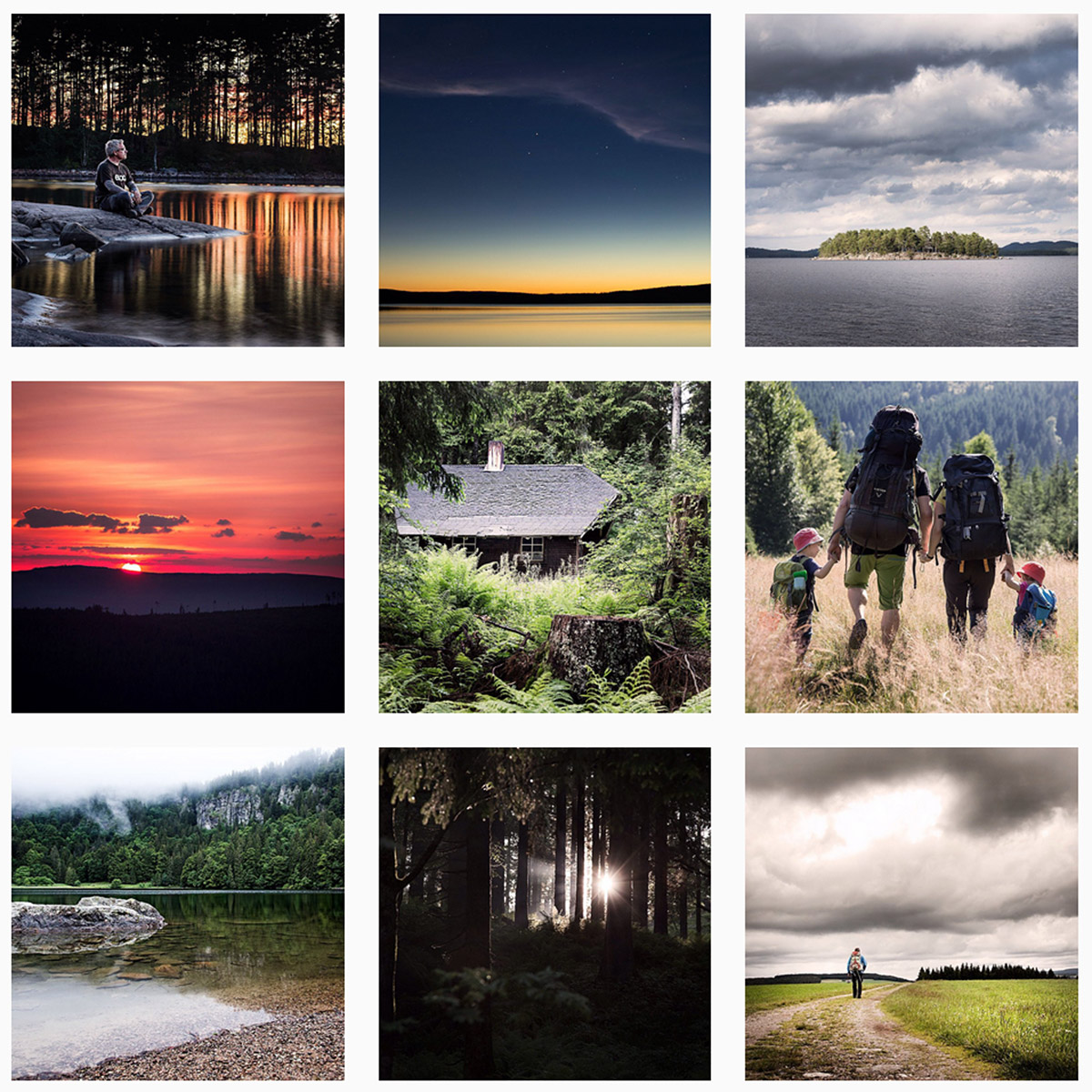 Outdoorhighlights auf Instagram